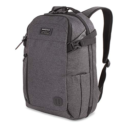 "SWISSGEAR Getaway 18"" Weekend Laptop Backpack - Heather Gray"
