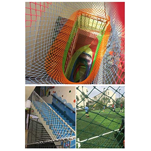 Climbing Net For Children, Kids Climbing Frames For Garden,Safety Netting,Cargo Net, For Children Pets Railings Stairs Playground Outdoor Patios,Rope Thick10mm,Spacing15cm(1*9m/3.28*29.52ft)