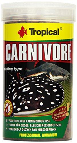 Tropical Carnivore - Futter für große, fleischfressende Fische (Rochen, Raubwelse), 1er Pack (1 x 500 ml)