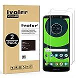 ivoler [2 Unidades] Protector de Pantalla para Motorola Moto G6 Play/Motorola Moto E5, Cristal Vidrio Templado Premium