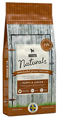 Bozita Hundefutter Naturals Puppy & Junior, 1er Pack (1 x 12.5 kg)