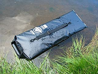 Amphibian Dry Bag Tactical Pistol Case by American Mountain Supply Fits A Pistol And Accessories - 3 Rolls and Buckle Shut With Webbed Carrying Strap