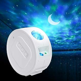 Arzopa Lampada Proiettore Led Cielo Stellato Luce Notturna, Proiettore con 6 Effetti di Luce, Delicacy Proiettore a Luce S...