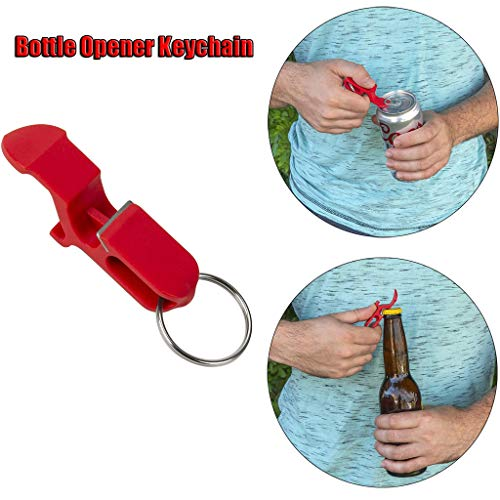 Dissme Bottle Opener Keyring Bottle Opener Key Ring Bottle Cap Remover Chain Keyring Keychain Metal Beer Bar Tool Claw New 2/3/4/5Pcs