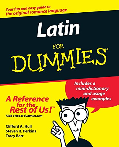 Compare Textbook Prices for Latin For Dummies 1 Edition ISBN 0785555107892 by Hull, Clifford A.,Perkins, Steven R.,Barr, Tracy L.