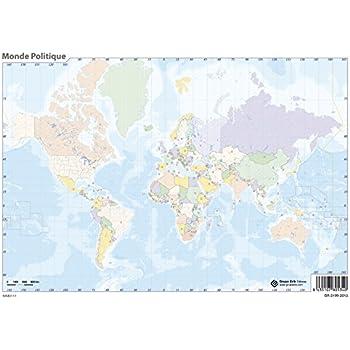 Erik - Tarjetas de memoria A4 con diseño de mapas y texto en relieve, paquete de 10: Amazon.es: Oficina y papelería