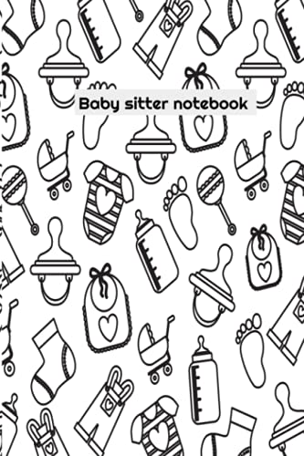 sitting baby information notebook for kids and parents to follow babies information: simple baby sitting notebook information