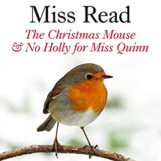 The Christmas Mouse and No Holly for Miss Quinn cover art