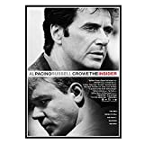 DuanWu The Insider Al Pacino Russell Crowe Poster Malerei