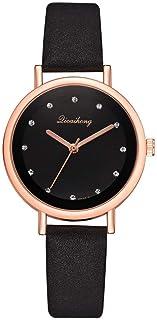 Wristband Women's Wrist Watches Ladies Series Girls Watch Female for Women Women's Quartz Watch Diamond-Studded Solid Colo...
