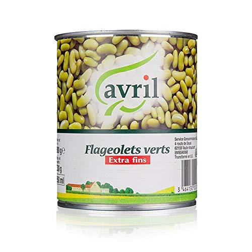 Flageolets, Bohnenkerne, eingelegt, 800 g*