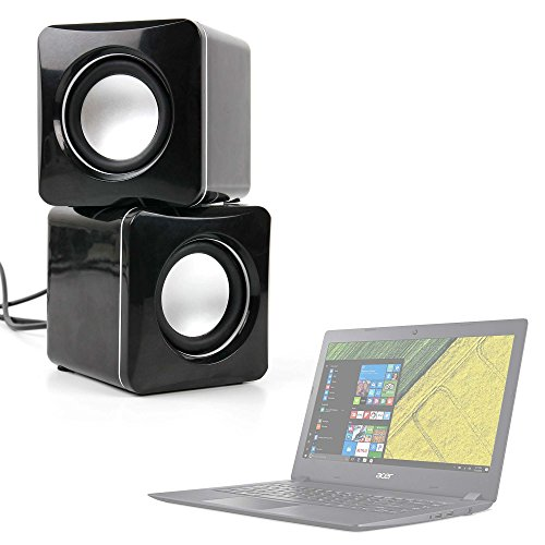 DURAGADGET Altavoces Compactos para Portátil Acer Aspire 3 A315-51 -53UC, 380T, 39WQ...