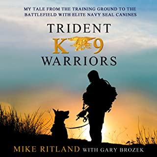 Trident K9 Warriors audiobook cover art