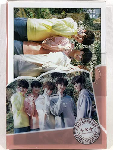 TXT TOMORROW X TOGETHER トゥモローバイトゥゲザー グッズ / プラケース入り ポストカード 16枚セット - Post Card 16sheets (is included in a Plastic Case) [TradePlac