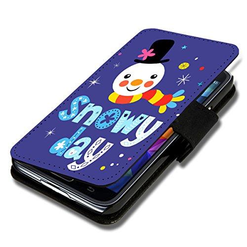 wicostar Book Style Flip Handy Tasche Hülle Schutz Hülle Schale Motiv Etui für Wiko Bloom - Flip X13 Design11
