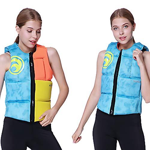 Buoyancy Aid Life Chalecidad Vida Adulta Vida Vida Agua Deportes Pesca Chaleco Kayaking Boating Natación Surfing Drifting Seguridad Vestir Chaleco,M