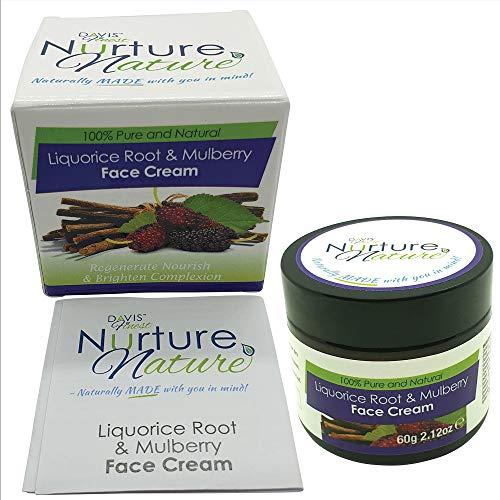 Davis Finest Nurture Nature Liquorice Root & Mulberry Face Cream, Skin...