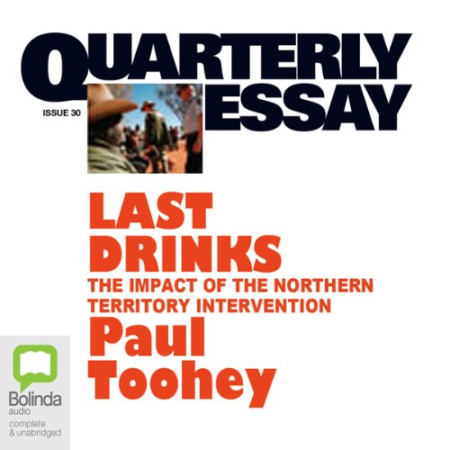 Quarterly Essay 30 audiobook cover art