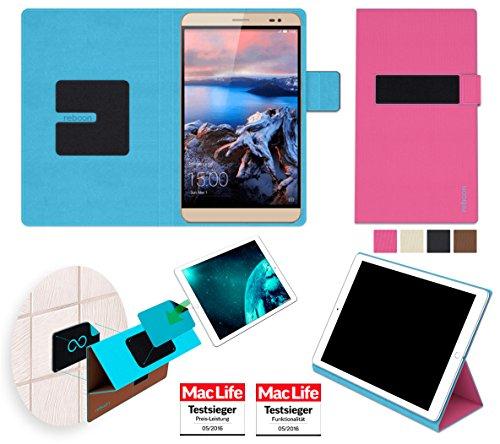 reboon Hülle für Huawei MediaPad X2 Tasche Cover Case Bumper | Testsieger | Pink