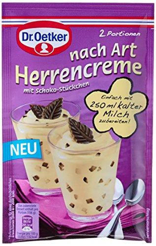 Dr. Oetker Dessert nach Art Herrencreme, 12er Pack (12 x 62 g)