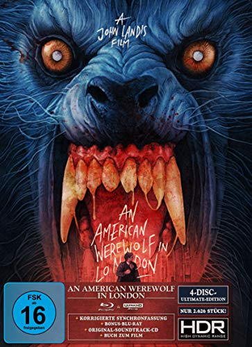 An American Werewolf in London - Ultimate Edition (4K Ultra HD) (+ Blu-ray 2D) (+ Bonus-Blu-ray) (+ CD) (Gabz Artwork)