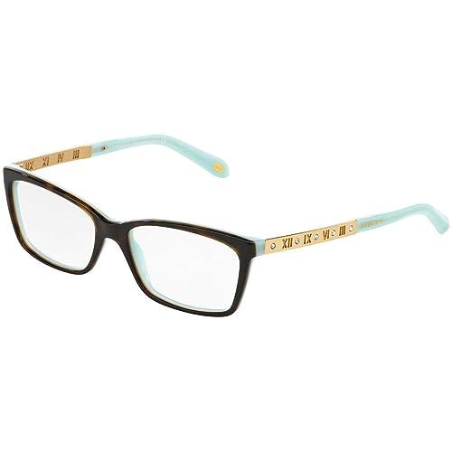 e5a94b230a8e Tiffany   Co Women s Eyeglasses TF2103B TF 2103 B 8134 Havana Optical Frame  55mm