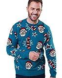 Knaller Weihnachtsmann Pullover