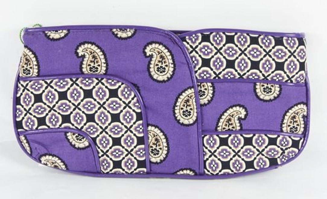 見物人懲らしめ筋ヴェラブラッドリーパッチワークコレクションJazzyクラッチバッグin Simply Violet
