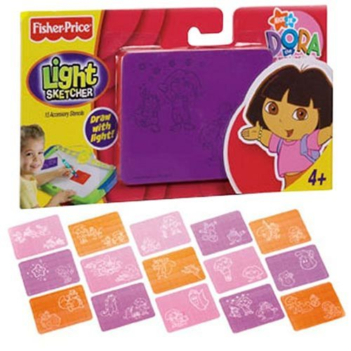 Dora the Explorer Light Sketcher Stencils