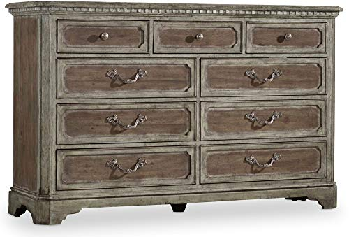 Check Out This Hooker Furniture True Vintage 9 Drawer Dresser in Driftwood