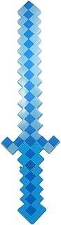 Espada Minecraft 58 Cm Diamante Pilha Com Som E Luz