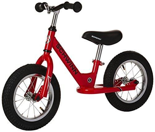Image of Schwinn Skip Toddler Balance Bike, Skip 1, 12-Inch Wheels, Red