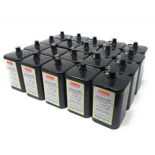 Nissen 4R25 6V-Batteria a Blocco di Ricambio Batteria per Torcia IEC 4R25 Confezione da 20