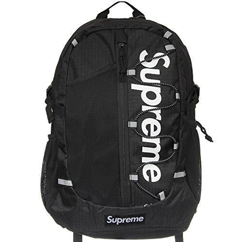 Supreme Italia Unisex Rucksack Bagpack Tasche Streetwear rot schwarz blau kamo (schwarz (1101))