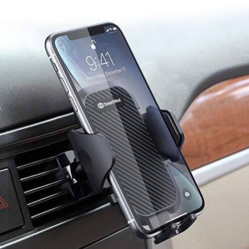 Universal Car Vent Phone Mount DesertWest Air Vent Cell Phone Holder for Car Ultra Durable Cradle Compatible with iPhone SE 11 Max Pro X XS Max XR 8 7, Samsung Galaxy S20 S10 S10+ S10e All Phones