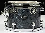 DW Performance Series Mounted Tom - 9 Inches X 12 Inches Black Diamond FinishPly