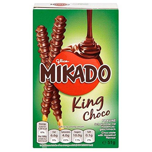 Mikado Rey Choco (51g) (Paquete de 2)
