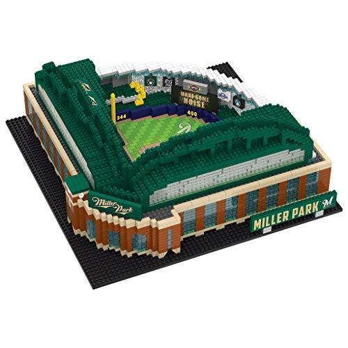 MLB Milwaukee Brewers Unisex 3D Brxlz- STADIUM3D Brxlz- Stadium, Team Color, One Size