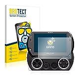 BROTECT 2X Entspiegelungs-Schutzfolie kompatibel mit Sony PSP Go Bildschirmschutz-Folie Matt, Anti-Reflex, Anti-Fingerprint