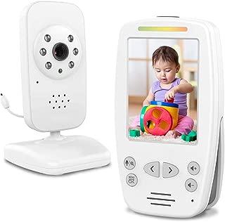 デジタルビデオベビーモニター、2.4GHzの調節可能なベビーカメラの温度検出、VOX機能、2ウェイオーディオ、赤外線ナイトビジョン、内蔵の音楽と高齢者のためのスピーカー、赤ちゃん、ベビーシッター、ペット