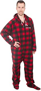 Forever Lazy's Personalized Unisex Detachable Feet Adult Onesie One-Piece Pajama