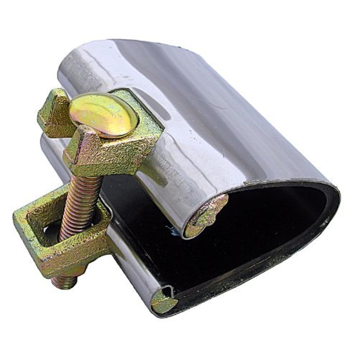 団結ありふれたピンLASCO 13-1308 Stainless Steel One-Piece Pipe Repair Clamp with Single Bolt, 3-Inch [並行輸入品]
