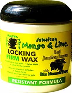 Jamaican Mango & Lime Resistant Formula Locking Firm Wax, 6 Ounce