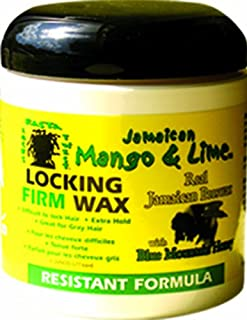 Jamaican Mango & Lime Resistant Formula Locking Firm Wax, 6 Ounce