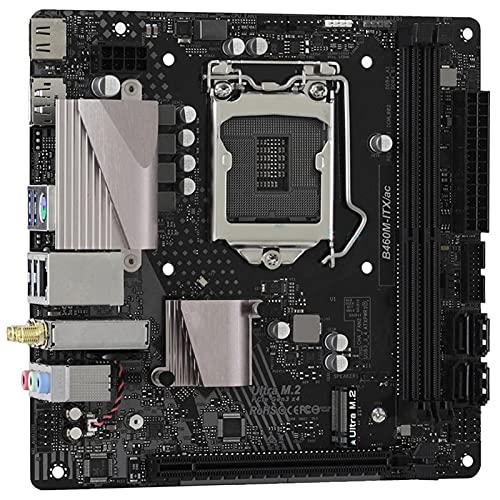 fit for Asrock B460M-ITX/AC LGA 1200 para Placa Base de Escritorio Intel B460 DDR4 PCI-E 3.0 64GB HDMI DP Mini-ITX