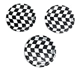 "Open Wheel Indy Car Racing Checkard Flag Party 7"" Plates (24)"