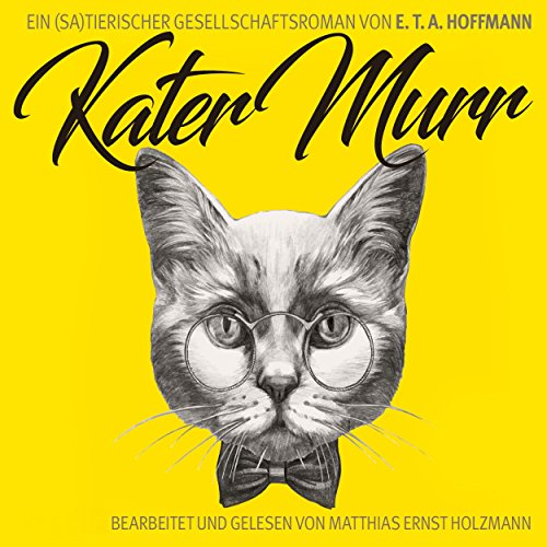 Kater Murr: Ein (sa)tierischer Gesellschaftsroman Titelbild
