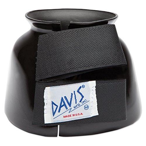Davis Pro-Fit Hufglocke, Größe M, Schwarz