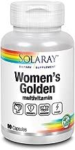 Solaray Women's Golden Multi-Vita-min Capsules, 90 Count