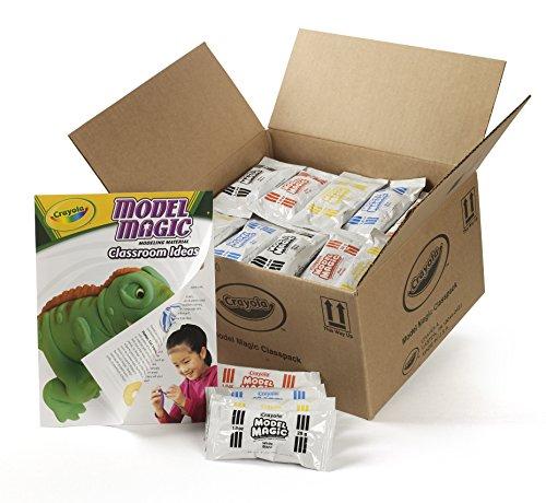 Crayola Model Magic, School Supplies Classpack, Modeling Clay Alternative, 1 oz, Packs, 75 Count